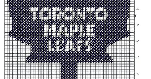 Toronto Maple Leaf Plastic Canvas Patterns Pinterest