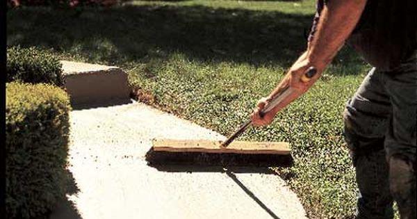 Quick Fix For Worn Concrete Concrete