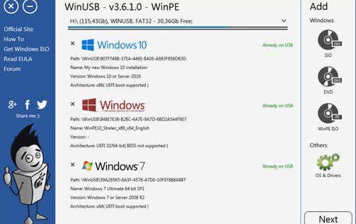 Winusb V3 7 0 1 المجاني Usb Software Apps Linux