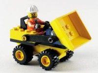 City Mini Dump Truck Lego 6470 Great Set I Ll Have To Find This One Back Lego Instructions Dump Trucks Lego