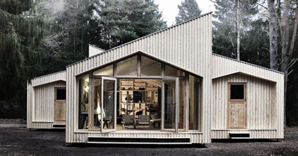 Danish architecture firm Eentileen has teamed up with Facit Homes to build