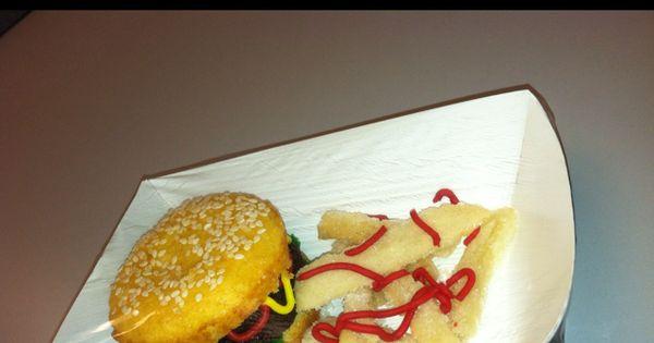 Brownies, Cupcake brownies and Burgers on Pinterest