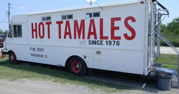 the tamale man truck has been a staple on fm 2351 in