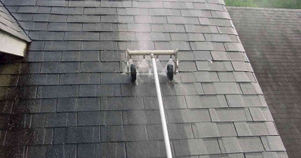 How To Remove Black Streaks From Roof Shingles Roof Cleaning Roof Shingles Shingling