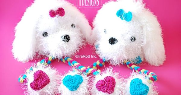 Maltese Puppy Dog Hat Crochet Pattern @Denise H. H. H. Bell can you ...