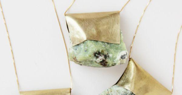 Nallik Serpentine Boho Pendant Necklace | Bohemian Jewelry