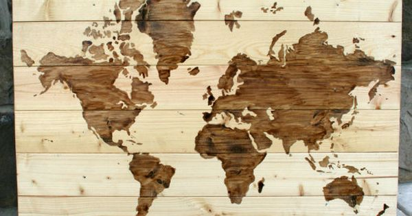 scrap wood projects - map