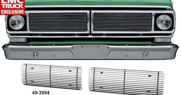 Billet Aluminum Grille Set Classic Car Insurance Ford Trucks