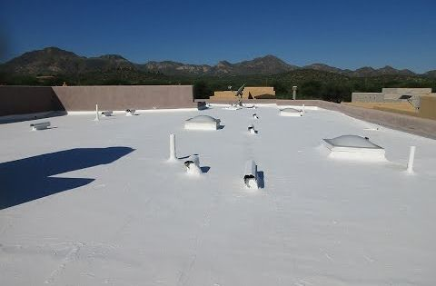 Snow Seal Roofing Roof Paint Roof Coating Roof Restoration
