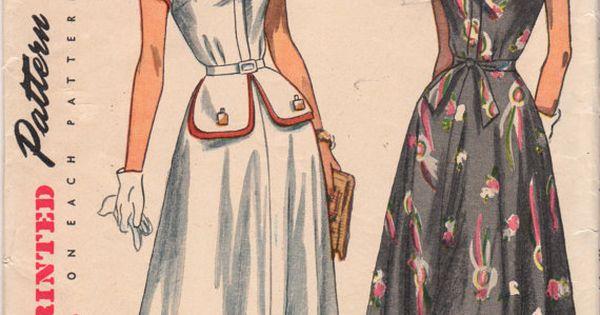 Patrón de simplicidad vintage 5549