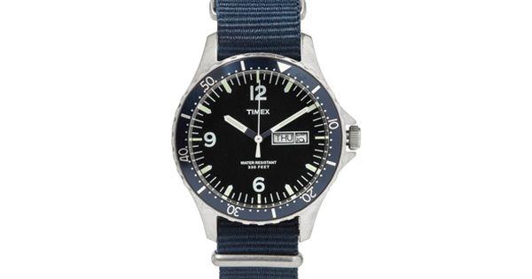 Timex X JCrew Watch Watches Pinterest