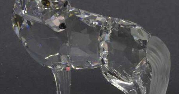 Swarovski crystal wolf figurine cristal swarovski - Figuras de cristal swarovski ...
