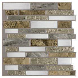 Lowes L N Stick Backsplash Tile Mountain Terrain