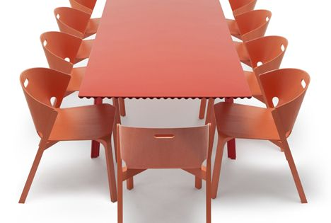 Benjamin Hubertu0027s Lightweight Table Is Now Strong Enough To Stand, Möbel