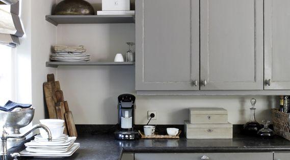 Ik merk dat ik het meest behoefte heb aan een degelijke luxe keuken kwaliteit maar toch een - Idee deco keuken grijs ...