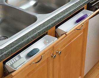 Rev A Shelf 6572 11 11 52 11 279mm Sink Front Tip Out Tray System W Self Holdin Hinges Set White Sink Rev A Shelf A Shelf