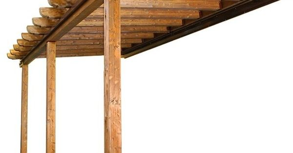 Pergola de madera y numero de postes foro de infojard n - Postes para pergolas ...