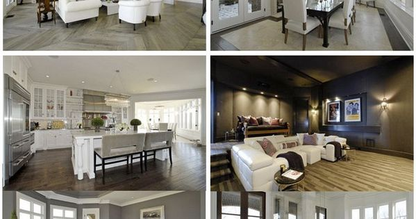 LeAnn Rimes' former home in Nashville. I love the muted neutral colors!