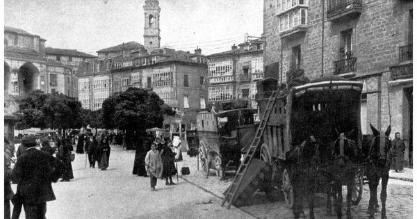 Fotos antiguas vitoria casa quico junto a la plaza for Ciudad jardin vitoria