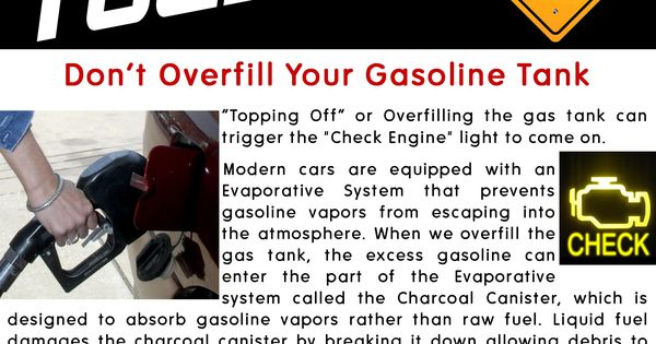 Don T Overfill Gas Tank On Classic Car