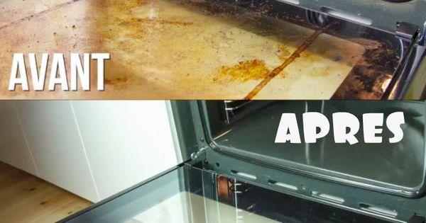 Pour tous ceux qui d testent nettoyer leur four voici la for Nettoyer frigo vinaigre blanc
