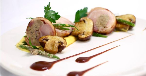 Chicken Ballotine Plate Presentation Pinterest Discover Best Ideas About Restaurants