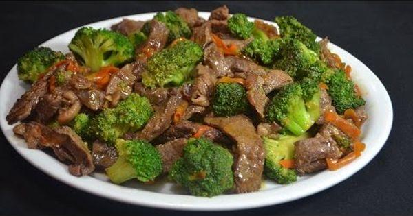 Carne con brocoli rica comida china recetas para for Comidas faciles para cocinar