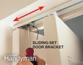 How To Fix A Bifold Door With Images Diy Home Repair Diy Door Bifold Doors