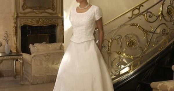 Mormon wedding dresses gown wedding dress lds temple for Temple ready wedding dresses