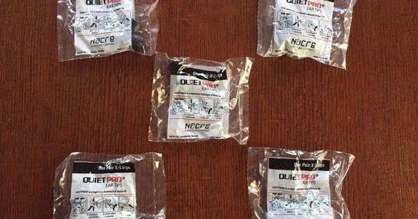 Nacre Quietpro Ear Tips Xtra Large Size 5pc Quiet Pro