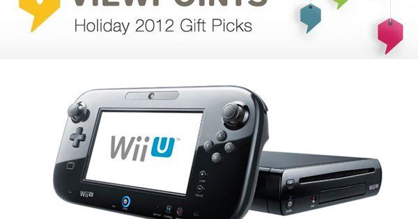 Console Nintendo Wii U Console 32GB Black Deluxe Set Games Console NintendoWiiU