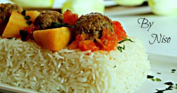 داوود باشا بالصلصة الحمراء Recipe Egyptian Food Recipes No Salt Recipes