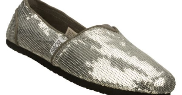 Women S Bobs Positive Vibe Silver Skechers Mens Shoes Dress