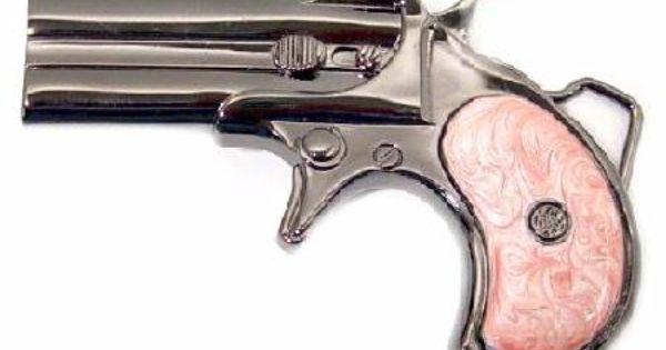 SR Derringer Gun Buckle