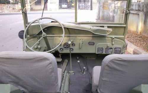 handmade browning 1919 a6 30 cal 1943 ford gpw and 1942 bantam 1942 ford gpw interior shot