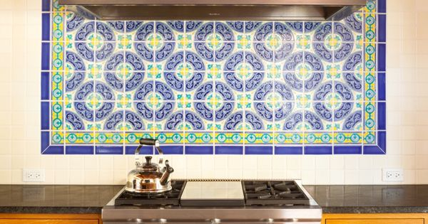 Spanish Kitchen Backsplash And The O 39 Jays On Pinterest