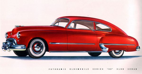 1948 oldsmobile series 98 club sedan car pinterest for 1948 oldsmobile 4 door sedan