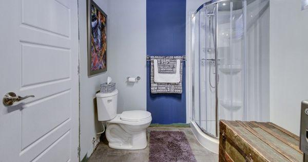 R novation salle de bain au sous sol plancher en vinyle for Lame vinyle salle de bain