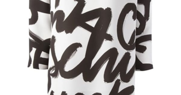 moschino cheap and chic logo scribble dress logo pinterest moschino scribble and logos