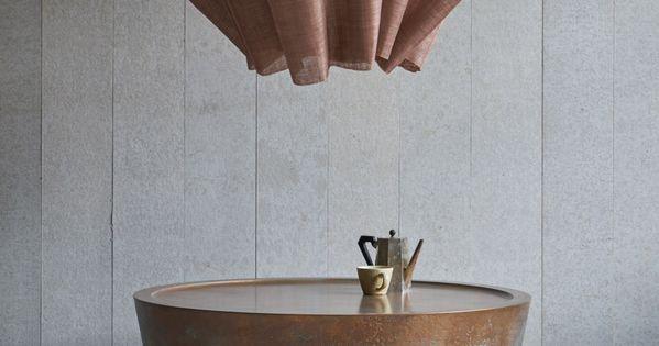 pinch updates nim table using copper and jesmonite | vignettes, Attraktive mobel
