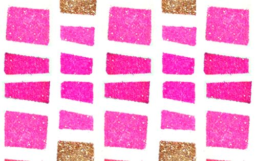 Paperfashion Neon Fashion Illustration Advice on Paint Glitter and Tutorials - Heart