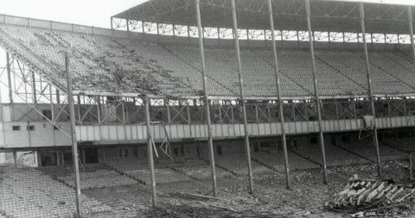 The Demolition Of Old Municipal Stadium Kansas City Missouri