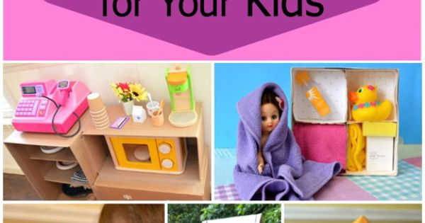 10 Amazing Toys You Can Make for Your Kids crafts parenting holiday