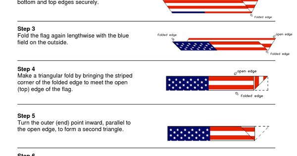three flag pole etiquette