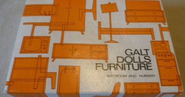 Galt Dolls House Furniture Furniture Box Doll House Doll Furniture