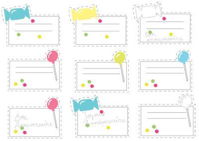 Etiquette Anniversaire à Imprimer Gratuite.Etiquette Anniversaire A Coller Etiquettes Imprimer