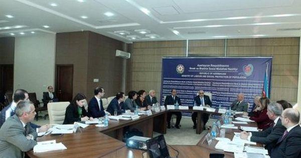 Sosial Mudafiə Sahəsinə Aid Yeni Sənədlər Hazirlanib Conference Room Home Decor Conference Room Table