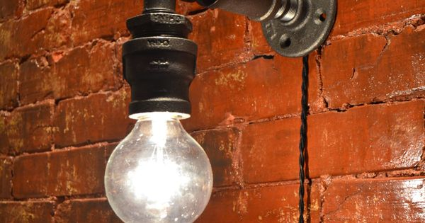 Industrial Lighting Steampunk Faucet Sconce Steampunk