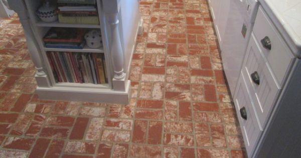 Kitchen Brick Floor Tile