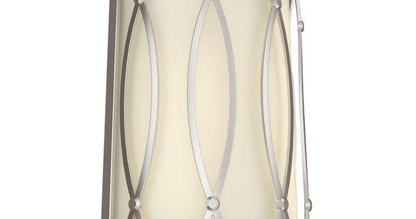 Shop Allen Roth 3 Light Vallymede Brushed Nickel: Shop Allen + Roth 7.875-in W 2-Light Brushed Nickel Pocket
